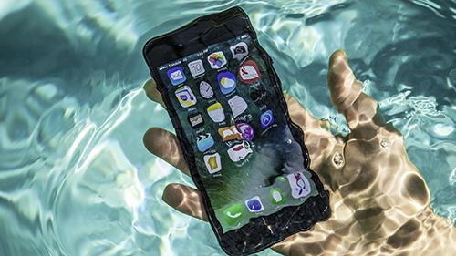 iPhone 2019 được cho làcó thể dùng thoải mái dưới nước. Ảnh: Cnet.
