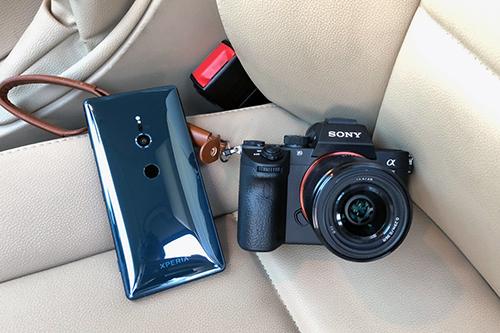 Mảng máy ảnh Sony Alpha không chia sẻ toàn bộ vớiSony Mobile. Ảnh: SonyFan