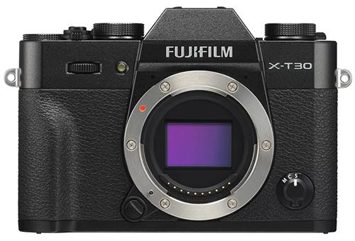 Fujifilm X-T30.