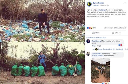 Thử tách dọn rác - trào lưu đẹp lan tỏa trên Internet