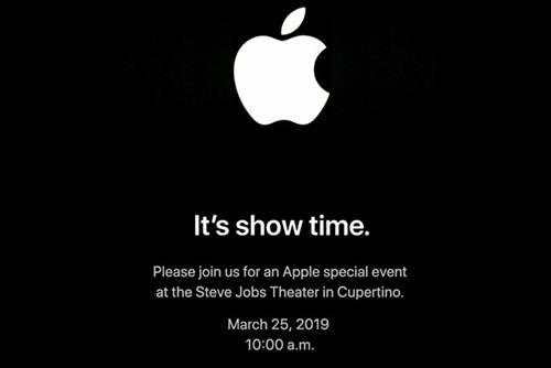 Sự kiện của Apple được tổ chức tại Nhà hát Steve Jobs.