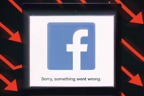 Facebook bị sập mạng ngày 13/3 được xem là sự cố lớn nhất của mạng xã hội từ trước đến nay. Ảnh: The Verge.
