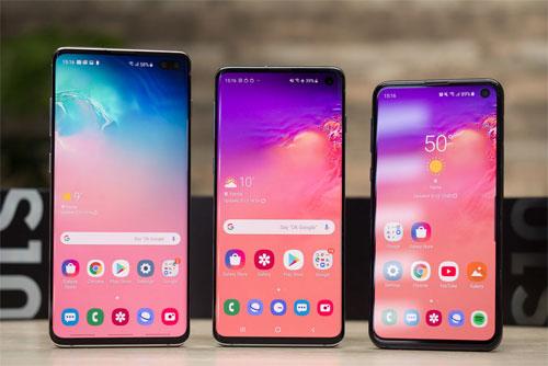 Bộ ba Samsung Galaxy S10.