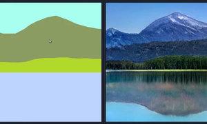 AI biến nét vẽ nguệch ngoạc thành tranh nghệ thuật