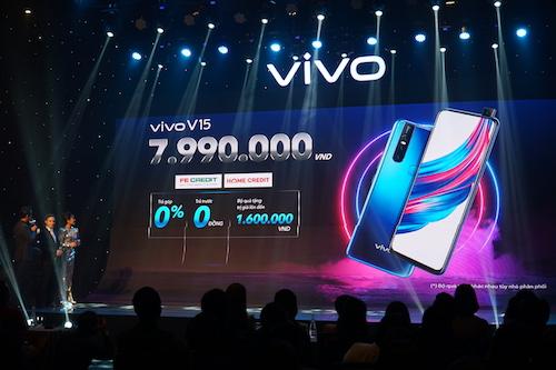 Vivo có giá bán chính thức tại Việt Nam là 7,99 triệu đồng. Ảnh: Tuấn Nhu