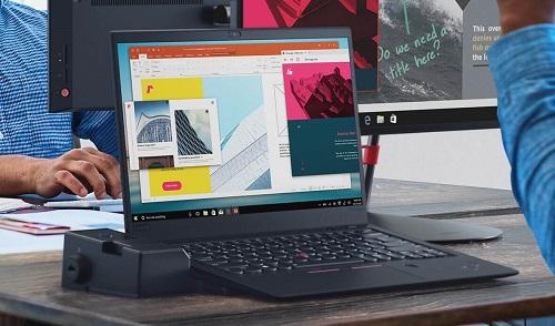 ThinkPad X1 Carbon với thiết kế mỏng và cấu hìnhmạnh.