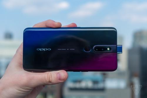 Bộ đôi Oppo F11 Pro và F11 vừa được giới thiệu tại Ấn Độ có camera lên tới 48 megapixel. Nguồn: The Verge