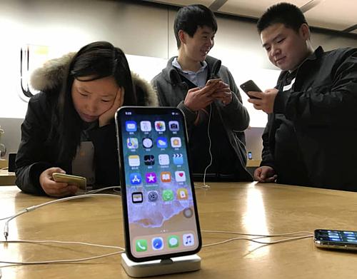 iPhone liên tục giảm giá ở Trung Quốc.