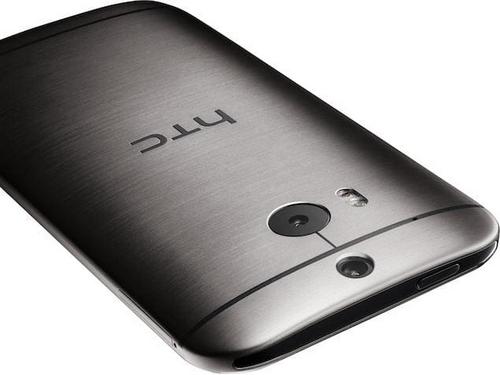 HTC One (2014) có camera kép. Ảnh: Techcrunch.