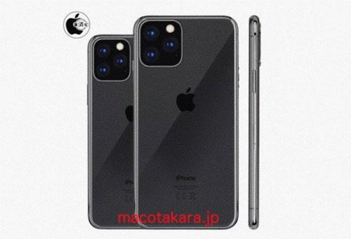 iPhone XI hoàn toàn mới với thiết kế 3 camera. Ảnh: Macotakara