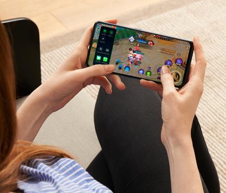 Chế độ Hyperlapse trong F11 Pro giúp máy tối ưu tài nguyên khi đang chơi game.