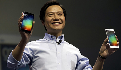 CEO Xiaomi Lei Jun.