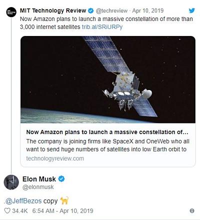 Elon Musk nói Jeff Bezos đạo nhái ý tưởng phóng tên lửa của mình.