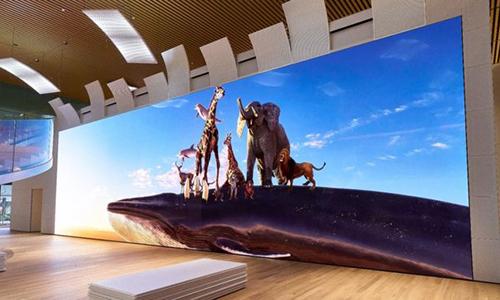 Sony gọi màn hình 16K khổng lồ của mình là cánh cửa ra thế giới.