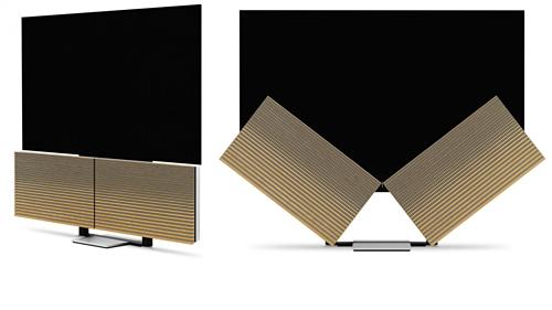 TV 4K OLED siêu mỏng có loa mở cánh bướm