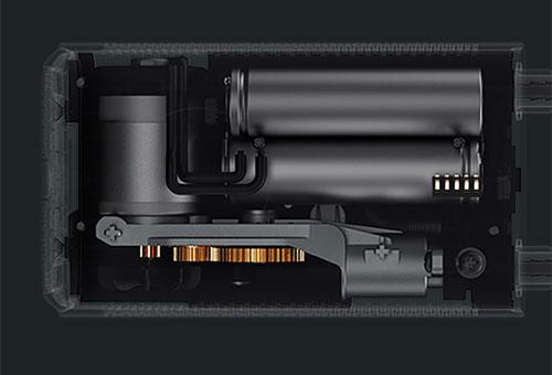 Cấu tạo bên trong của bơm di động Xiaomi.