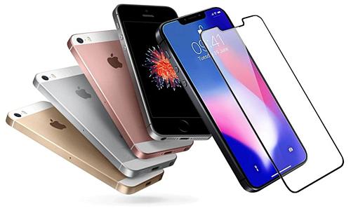 Mẫu thiết kế iPhone SE2 với kích thước nhỏ như 5s và SE nhưng dùng màn hình kiểu tai thỏ. Ảnh: Forbes.
