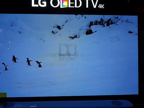 TV OLED của LG bị burn-in khi trưng bày tại một cửa hàng ở Mỹ.