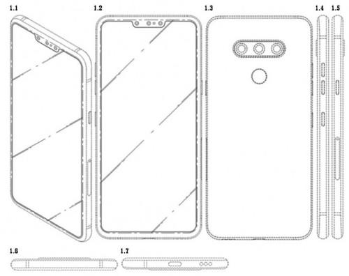 LG có thể ra smartphone với ba máy ảnh selfie