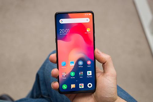 Mi Mix 3, smartphone không viền với camera dạng trượt của Xiaomi. Ảnh: Phonearena.