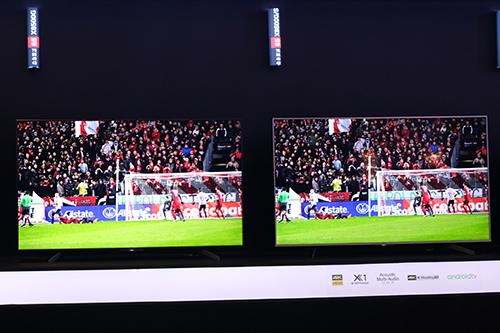 Loạt TV 4K của Sony đều chạy Android TV.