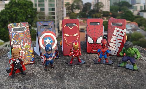 Samsung cùng Marvel ra ốp lưng siêu anh hùng cho Galaxy S10