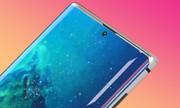 Ý tưởng Galaxy Note10 màn hình 'nốt ruồi', bốn camera sau