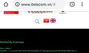 Website của mạng di động ảo đầu tiên Việt Nam bị hack