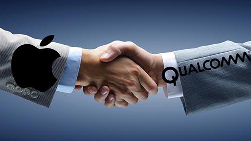 Việc bắt tay trở lại có lợi cho cả Qualcomm lẫn Apple. Ảnh: AppleStatus.