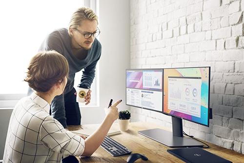 Các màn hình Dell phân phối tại Việt Nam áp dụng gói bảo hành Advanced Exchange 3 năm.