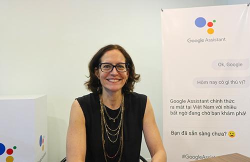 Bà Elin Barnes, Giám đốc Sản phẩm phụ tráchGoogle Assistant củaGoogle.