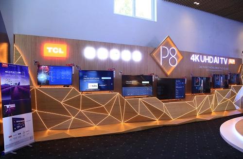 Series TCL 4K UHD AI TV P8  hướng đến phân khúc khách hàng trẻ, ưa chuộng tính năng công nghệ mới.