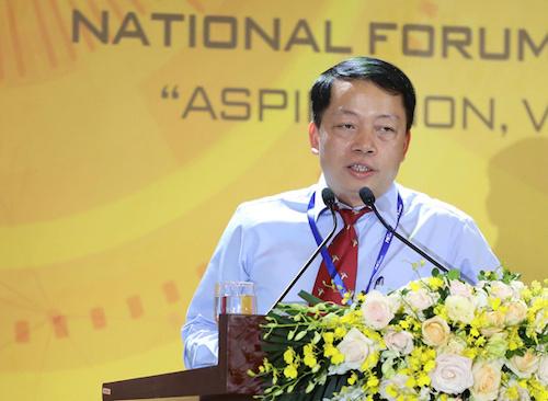 Ông Lê Phú Hà,Cục trưởng Cục CNTT và Dữ liệu tài nguyên môi trường (Bộ Tài nguyên Môi trường).