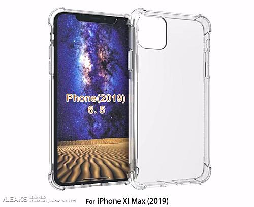 Ốp lưng iPhone 2019 lộ diện