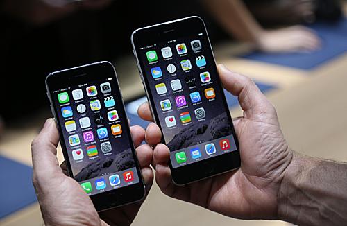 iPhone 6 và 6 Plus khá phổ biến ở Việt Nam.