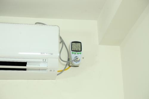 Mức tiêu thụ điện năng đo được sau 8 tiếng sử dụng điều hòa 26 độ chỉ tốn 0,938 số điện.