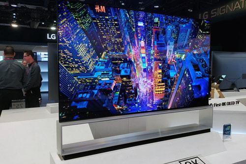 LG sẽ đưa TV 8K về Việt Nam trong nửa cuối năm nay. Ảnh: AVS