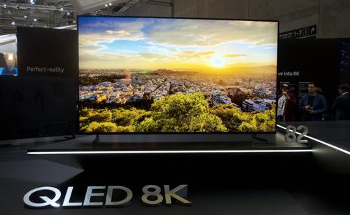 Ba hãng lớn đều có TV 8K nhưng hiện nay chỉ Samsung đưa về Việt Nam. Ảnh: AVS