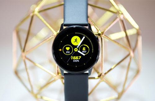 Samsung Galaxy Watch Active. Ảnh: Engadget