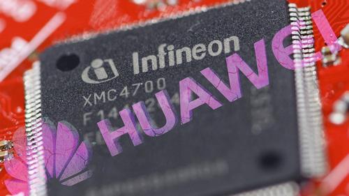 Infineon là một trong những đối tác bán dẫn của Huawei. Ảnh: Nikkei.