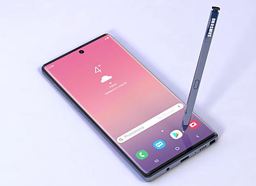 Smartphone cao cấp mới của Samsung sẽ thay đổi nhiều về camera so với Note9. Ảnh: Phone Arena.