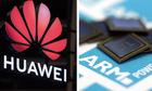 ARM ngừng hợp tác với Huawei