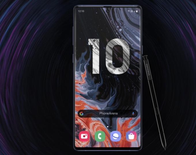 Bản dựng Galaxy Note 10 nhiều màu sắc