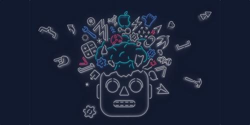 Hình ảnh thư mời WWDC 2019.