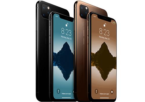 Một ý tưởng về iPhone 2019. Ảnh: MacRumors.