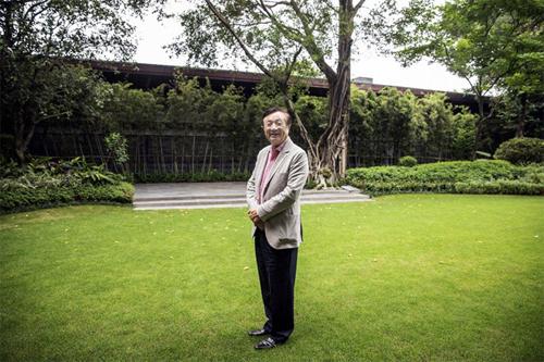 Nhậm Chính Phi, nhà sáng lập Huawei. Ảnh: Bloomberg.