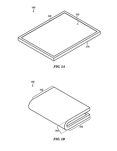 Apple có bản quyền màn hình gập cho iPhone và iPad