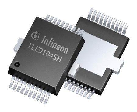 Bộ chuyển mạch hạ áp của Infineon được thiết kế nhằm giảm thiểu khí thải CO2 của xe hơi sử dụng động cơ đốt trong. Thông tin chi tiết tại đây.
