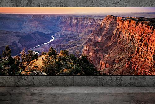 TV 8K 292 inch của Samsung lớn như một bức tường.