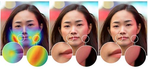 Công cụ phát hiện ảnh chỉnh sửa gương mặt của Adobe.